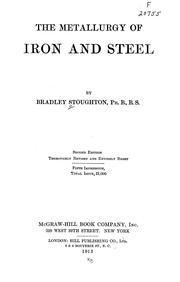 Cover of: The metallurgy of iron and steel