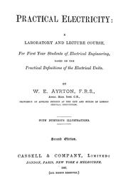 Cover of: Practical electricity