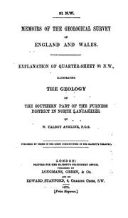 Cover of: Explanation of quarter-sheet 91 N. W. | William Talbot Aveline