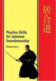 Cover of: Practice drills for Japanese swordsmanship =