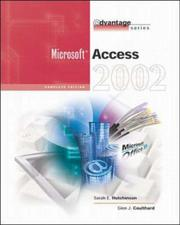 Cover of: Microsoft Access 2002 | Sarah Hutchinson-Clifford