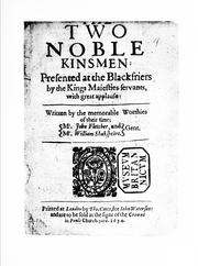 Cover of: The two noble kinsmen