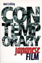 Cover of: Contemporary Japanese film