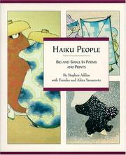 Cover of: Haiku people: big and small in poems and prints