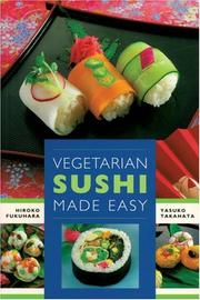 Cover of: Vegetarian sushi made easy