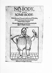 Cover of: Nobody and Somebody <c.1592.> |