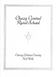 Cover of: Chazy central rural school |