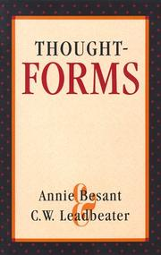Cover of: Thought-forms