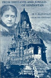 Cover of: From the caves and jungles of Hindostan | H. P. Blavatsky