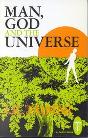 Cover of: Man, God and the Universe