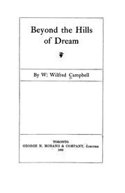 Cover of: Beyond the hills of dream