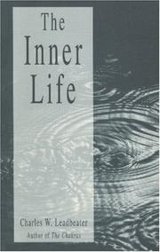 Cover of: The Inner Life (Quest Book) | Charles W. Leadbeater