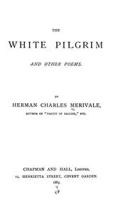 Cover of: The white pilgrim, and other poems