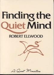 Cover of: Finding the quiet mind