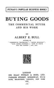 Cover of: Buying goods