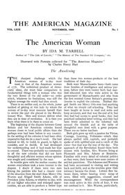 Cover of: The American woman