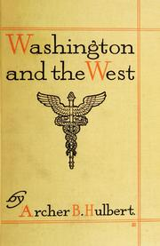 Cover of: Washington and the West