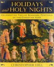 Cover of: Holidays and Holy Nights