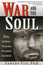 Cover of: War and the Soul:Healing Our Nation