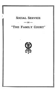 Cover of: Some general aspects of family desertion .... | Walter H. Liebman