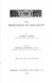 The principles of ornament