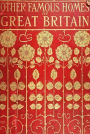 Cover of: Other famous homes of Great Britain and their stories | A. H. Malan