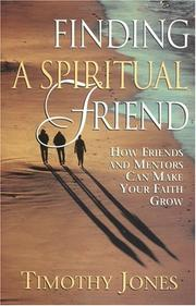Cover of: Finding a spiritual friend