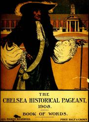 Cover of: The Chelsea historical pageant |