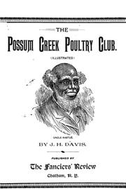 Cover of: The Possum Creek poultry club