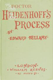 Cover of: Doctor Heidenhoff's process