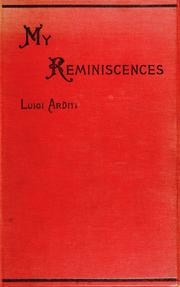 Cover of: My reminiscences