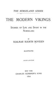 Cover of: The modern vikings