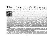 Cover of: Message of the President on the Panama Canal communicated to the two Houses of Congress, December 17, 1906 | United States. President (1901-1909 : Roosevelt)