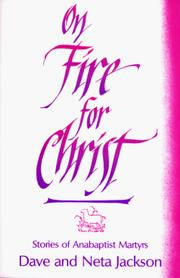 Cover of: On fire for Christ