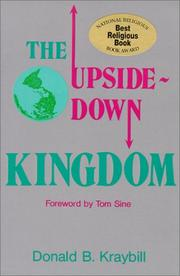 Cover of: The Upside-Down Kingdom (A Christian Peace Shelf Selection)
