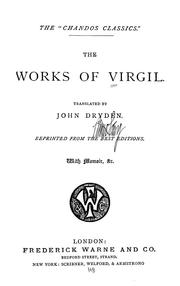 Cover of: The works of Virgil | Virgil.