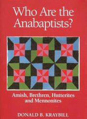 Cover of: Who are the Anabaptists?