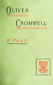 Cover of: Oliver Cromwell