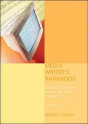 Cover of: Media writer's handbook