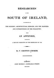 Cover of: Researches in the south of Ireland