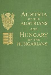 Cover of: Austria of the Austrians and Hungary of the Hungarians | Kellner, Leon