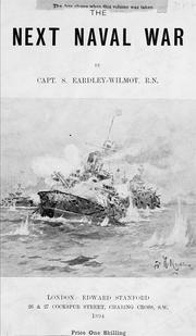 Cover of: The next naval war