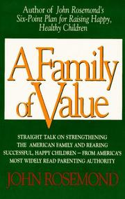 Cover of: A family of value