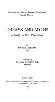 Cover of: Dreams and myths