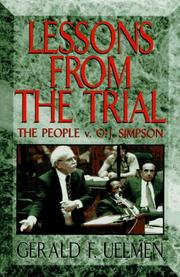Cover of: Lessons from the trial