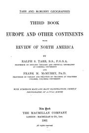 Cover of: Europe and continents, with review of North America