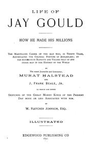 Cover of: Life of Jay Gould | Murat Halstead