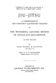Cover of: Jiu-jitsu | Harry H. Skinner
