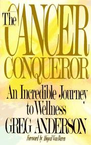 Cover of: cancer conqueror | Anderson, Greg