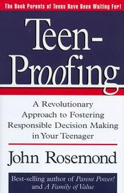 Cover of: Teen-proofing